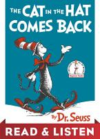 The Cat in the Hat Comes Back  Read   Listen Edition PDF
