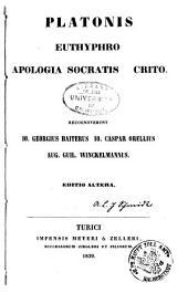 Platonis opera omnia: Τόμοι 1-6