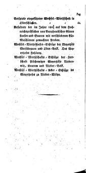 Annalen der schlesischen Landwirthschaft: Band 1