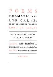 Poems Dramatic and Lyrical: Volume 1