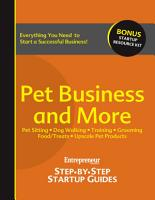 Pet Business and More PDF