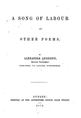 A Song of Labour  and Other Poems PDF