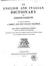 Dizionario Italiano, Ed Inglese Di Giuseppe Baretti: 2