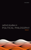 Oxford Studies in Political Philosophy PDF