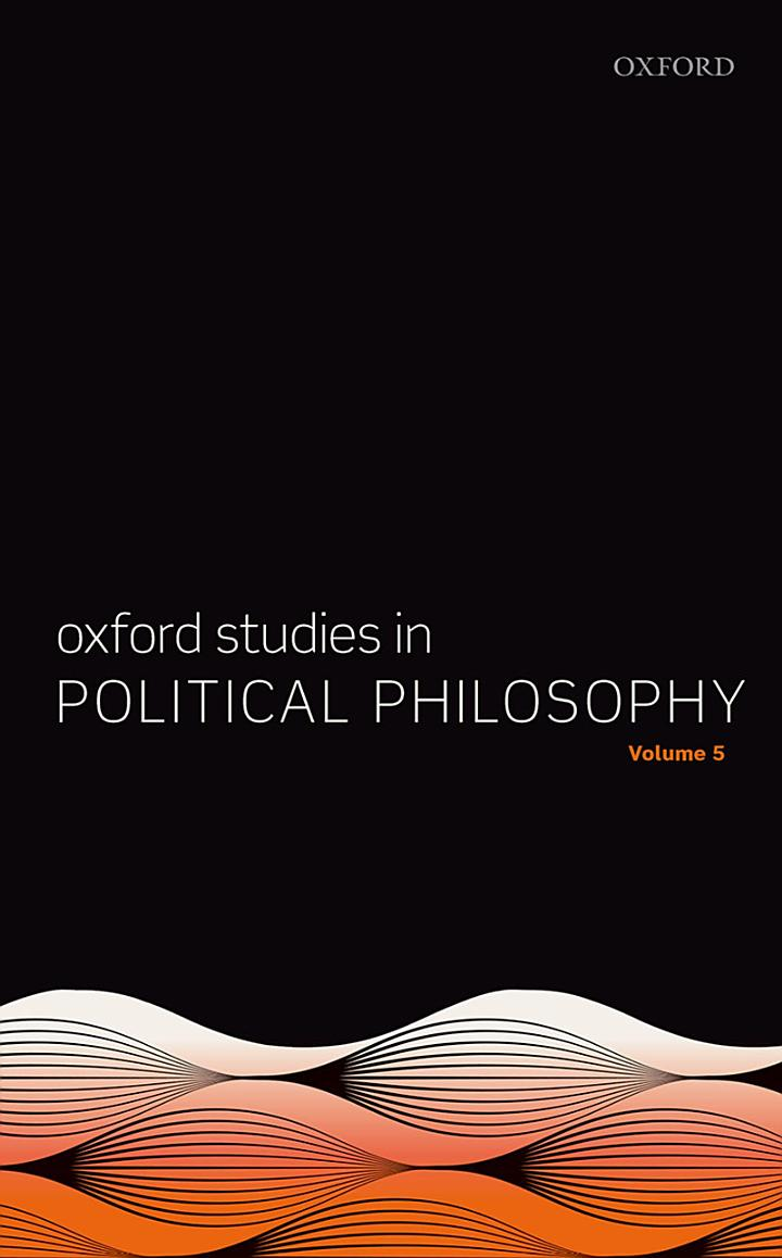 Oxford Studies in Political Philosophy