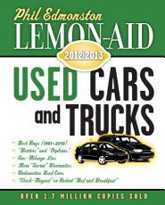 Lemon Aid Used Cars and Trucks 2012   2013 PDF