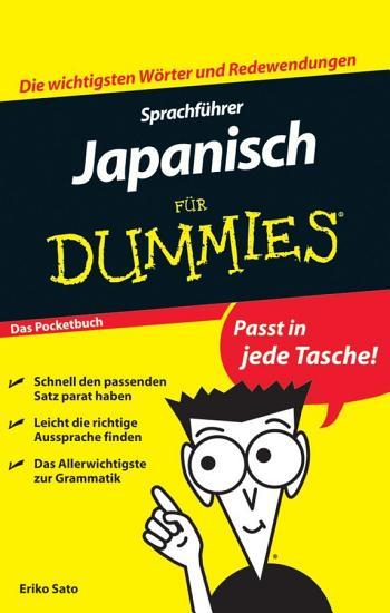 Sprachfuhrer Japanisch Fur Dummies Das Pocketbuch PDF