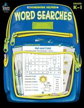 Word Searches, Grades K - 1
