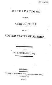 Observations on the Agriculture of the United States of America: Volume 39, Issue 5