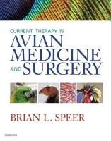 Current Therapy in Avian Medicine and Surgery   E Book PDF
