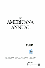 Encyclopedia Yearbook 1991 PDF