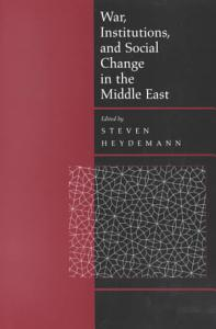 War  Institutions  and Social Change in the Middle East Book