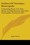 Outlines of Veterinary Homeopathy