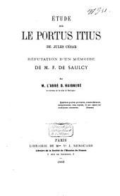 Etude sur le Portius Itius de Jules César