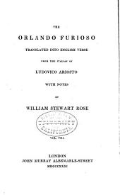 The Orlando Furioso; Tr. Into English Verse, by W.S. Rose: Volume 8