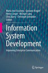 Information System Development: Improving Enterprise Communication