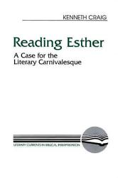 Reading Esther Book PDF