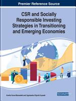 CSR and Socially Responsible Investing Strategies in Transitioning and Emerging Economies PDF