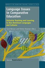 Language Issues in Comparative Education PDF
