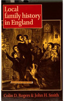 Local Family History in England  1538 1914 PDF