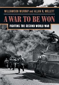 A War To Be Won Book