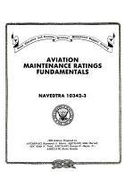 Aviation Maintenance Ratings Fundamentals