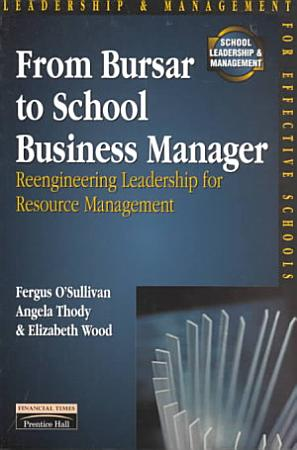 From Bursar to School Business Manager PDF