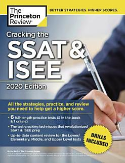 Cracking the SSAT and ISEE Book