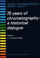 75 Years of Chromatography PDF