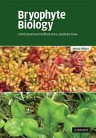 Bryophyte Biology PDF
