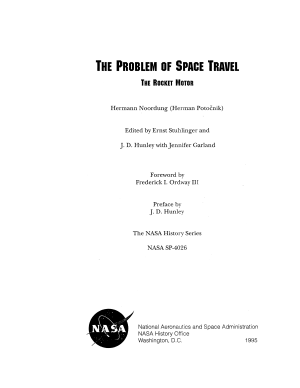 The Problem of Space Travel PDF