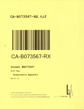 California. Court of Appeal (2nd Appellate District). Records and Briefs: B073567, Respondents Appendix