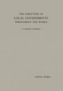 The Structure of Local Governments Throughout the World PDF