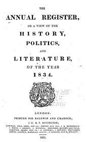 Annual Register: Volume 1834