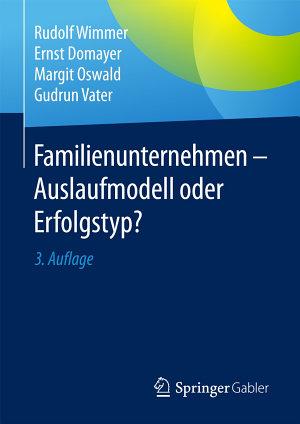 Familienunternehmen   Auslaufmodell oder Erfolgstyp  PDF