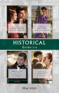 Historical Box Set 1 4 May 2020 Their Marriage of Inconvenience The Mysterious Miss Fairchild The Temptations of Lord Tintagel His Runaway Book