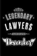 Legendary Lawyers Are Born in November
