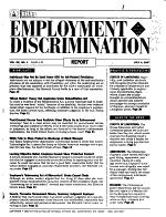 BNA s Employment Discrimination Report PDF