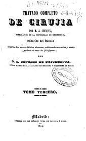 Tratado completo de cirujía: Volumen 3