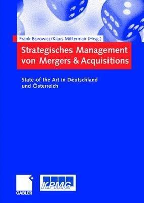 Strategisches Management von Mergers   Acquisitions PDF