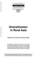 Diversification in Rural Asia
