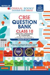 Oswaal CBSE Question Bank Class 10 English Language   Literature  Reduced Syllabus   For 2021 Exam  PDF