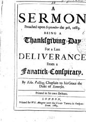 A sermon [on Ps. xxxiv. 19] preached upon September the 9th, 1683: Volume 22
