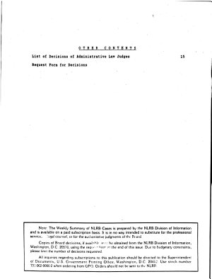 Weekly Summary of NLRB Cases PDF