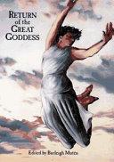 Return of the Great Goddess Book