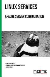 Apache server configuration: Linux Services. AL3-032