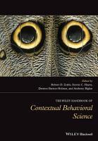 The Wiley Handbook of Contextual Behavioral Science PDF