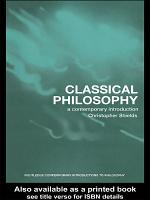 Classical Philosophy PDF