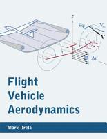 Flight Vehicle Aerodynamics PDF