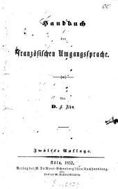 Handbuch der französischen Umgangssprache